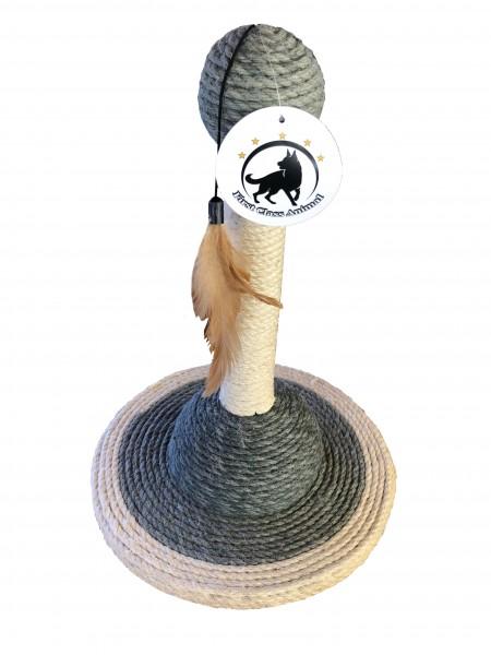 Katzenspielzeug 3er Sparset Kratzspielzeug Kratzstamm Kratzbaum Kratzsäule Sisal